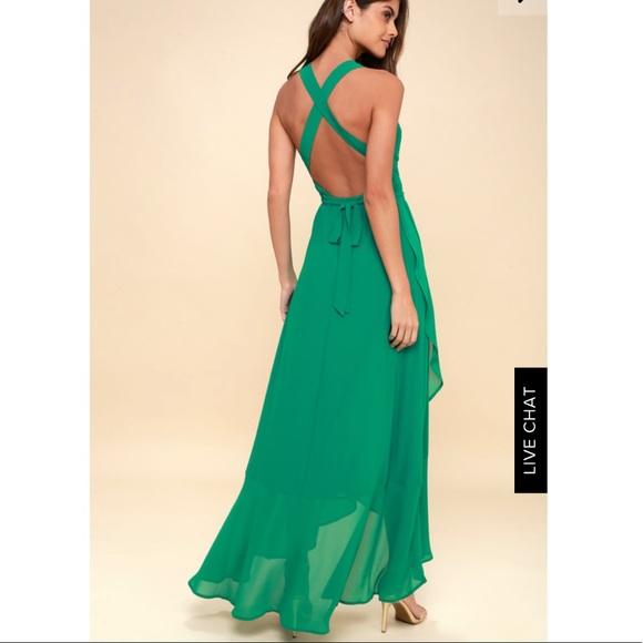 af303112c8 Lulu s Dresses   Skirts - Wrap of Luxury Convertible High-Low Maxi Dress